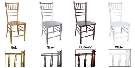 ASR Linen Rentals – Renting Chiavari Chairs
